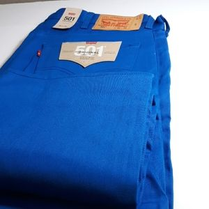 Levi's 501 Shrink to Fit Straight Leg Jeans Sz 42
